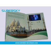 Wholesale 4.3 inch / 5 Inch TFT LCD Video Brochure , Folded LCD Greeting Card from china suppliers