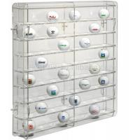 Wholesale acrylic golf ball display case large plexiglass display cabinet for golf ball wholesale display case from china suppliers