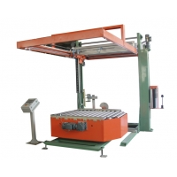 Wholesale 20T/h OD 260mm Rotary Automatic Pallet Wrapping Machine Use Rotary Stretch Wrapper from china suppliers