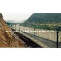 Quality Durable Waterproof Security Wire Fencing , Wire Mesh Garden Fence Panels Simple for sale