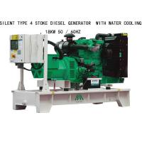 18KW Silent Type 4 Stoke Perkins Diesel Generators  With Water Cooling for sale