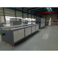 China 300mm PVC Profile Extrusion Line With Conical Double Screw Extruder on sale