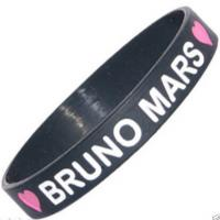 Funny Silicone Wristband Bracelet For Adult / Children CE ROHS FDA SGS for sale