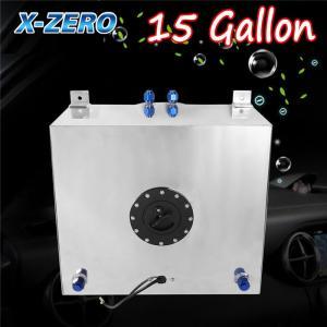 Wholesale 15 Gallon Aluminum Race Drift Fuel Cell Tank Lever Sensor Lightweight from china suppliers