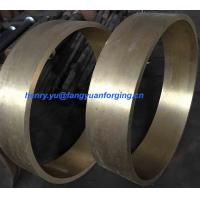 Wholesale Custom Forged And Rolled Copper Rings / Metal Ring Rolling Forging from china suppliers