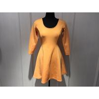 Wholesale Slim Waist Womens Wrap Dresses Breathable With Woven Spandex BGW002 from china suppliers