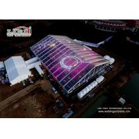 China Clear 50m Span Distance Large Event Tent For Annual Conference , Ceremony , Wedding on sale