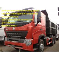 Wholesale Sinotruk HOWO Dump Truck A7 10 Tires Dumper Truck 50T Sand / Stone Load from china suppliers