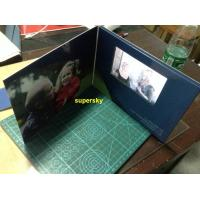 Wholesale 7 Inch A4 A5 Size LCD Video Book  / Lcd Invitation Card With 4G Memory from china suppliers