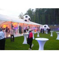 Durable Spring Wedding Event Tents , Trade Show Tent Marquee