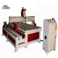 China Jinan CAMEL 1325 4 axis cnc router round wood rotary carving machine for Sculpture and furniture on sale
