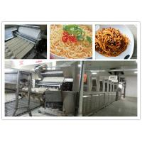 Wholesale Automatic PLC Control frying Noodle Manufacturing production line noodle machinery from china suppliers