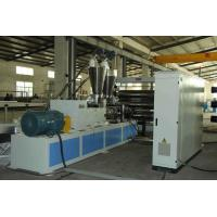 China Soft / Rigid Pvc Sheet Making Machine Anti Ultraviolet Ray Twin Screw Extruer on sale