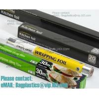 Wholesale good quality household aluminium foil rolls and wrapping paper, perforated aluminum foil insulation roll from china suppliers