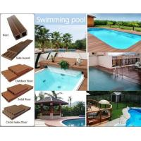 Wholesale wpc decking/wood plastic composite tiles from china suppliers