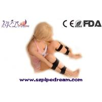 Buy cheap Leather Leg Hand Cuffs Set Fetish bdsm Bondage Restraint Hand Cuffs Locking Hands to Leg Harness Couples Sex game from Wholesalers