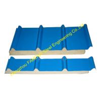 Color Steel Polyurethane Sandwich Panel Metal Roofing Sheets Board Insulation