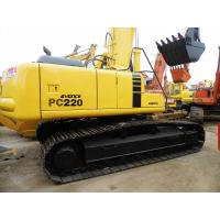 Quality Used KOMATSU Excavator PC220-6 Sale for sale
