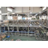 China 5 Gallon Mineral Water Barrel Filling Machine , Water Filler Equipment ISO CE for sale