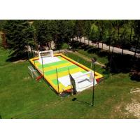 Wholesale Outdoor 12 x 2 x 6m Inflatable Soccer Field / Football Pitch With Air Pump from china suppliers