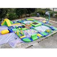 CE 14960 Inflatable Floating Water Park With Reinforced PVC Tarpaulin