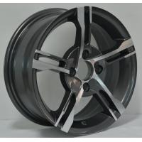 Wholesale Car Aluminum 13 Inch Alloy Wheels with 35 ET AND Red Machine Cut Lip KIN-216 from china suppliers