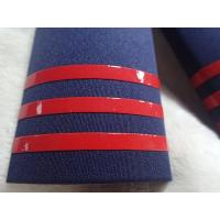 Shine And Soft Silicone Rubber Labels Printed On Military Clothing Shoulders for sale