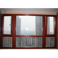 Residential Aluminium Tilt And Turn Windows Mechanism With Toughened Glass for sale