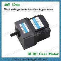 Wholesale 100V, 120V high voltage 25W power brushless dc motor with motor controller 220V, 230V from china suppliers