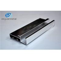 Wholesale Silver Polishing Standard Aluminum Extrusion Profiles For House Decoration from china suppliers