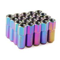 Wholesale Neo Chrome Racing Wheel Nuts 12 x 1.5 for Acura , Toyota , Mazda , Buick , Ford from china suppliers