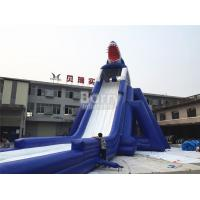 Wholesale Commercial Giant Sharp Long Inflatable Slip N Slide for Kids / Adult Aqua Park from china suppliers