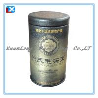 Wholesale Round Shape Tin Box For Tea Packing from china suppliers