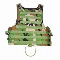 Wholesale Tactical Bulletproof Vest for Military Supplies, Made of Kevlar from china suppliers