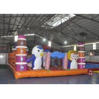 Wholesale Giant Animal Playground Inflatable Children Bouncy Castle With Slide from china suppliers