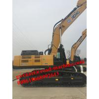 Wholesale XCMG Big Hydraulic Crawler Excavator, bucket capacity 4.5m3, operation weight 88000kgs from china suppliers