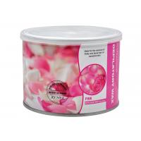 Quality Rose Flavour Depilatory Hair Removal 400g / Canned Solid Genuine Hot Wax Shaving for sale