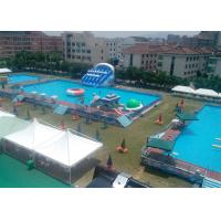 Quality Family Metal Frame Pool With Waterproof PVC , Swimming Pool Equipment Set for sale