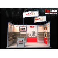 Buy cheap Standard and Customizable Aluminum Frame Exhibition 10x20 Trade Show Booth from wholesalers