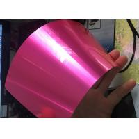Antibacterial Translucent Candy Powder Coat , Metal Surface Candy Pink Powder Coat for sale