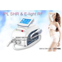Wholesale Dual Handles OPT SHR IPL Hair Removal Machine , Portable 3 In 1 Elight IPL Beauty Device from china suppliers