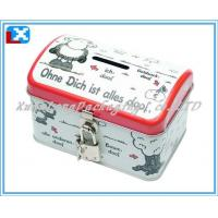 Wholesale Coin bank tin box from china suppliers
