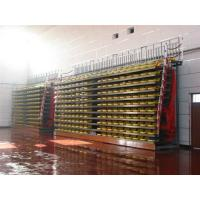 Aluminum Collapsible Bleachers Seating Firepoof For School Sports High Load Capacity