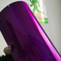 Purple Candy Powder Coat Paint , Electrostatic Thermoset Epoxy Polyester Powder Coating for sale