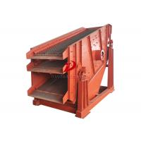 Wholesale Inclined Angle Linear Triple Deck Vibrating Screen High Production Capacity from china suppliers