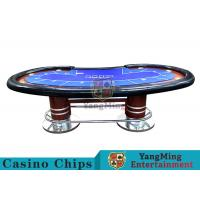 Wholesale Pea - Type Table Design Custom Casino Craps TableFor Poker Casino Games from china suppliers