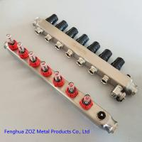 China Manifold for water circulation floor heating system,Water Manifold Radiant Floor Heating System for sale