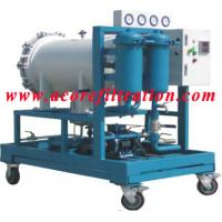 Wholesale Coalescence-separation type Diesel Fuel Oil Filtration Machine from china suppliers