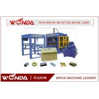 QTJ4-25 BlueAAC Block Machine , AAC Block Production Line High Exciting Force for sale