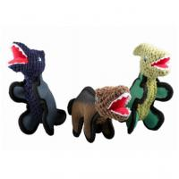 Wholesale Green Dinosaurs Design Cute Little Stuffed Animals , Plush Christmas Ornaments from china suppliers